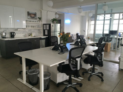 NY Office Dec 2015 - Open Plan kitchen,
