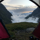Camping in The Alps France