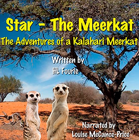 International Voice Actor Louise McCance-Price narrates Star The Meerkat Audiobook