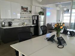 NY Office Dec 2015 - Open Plan, Kitchen