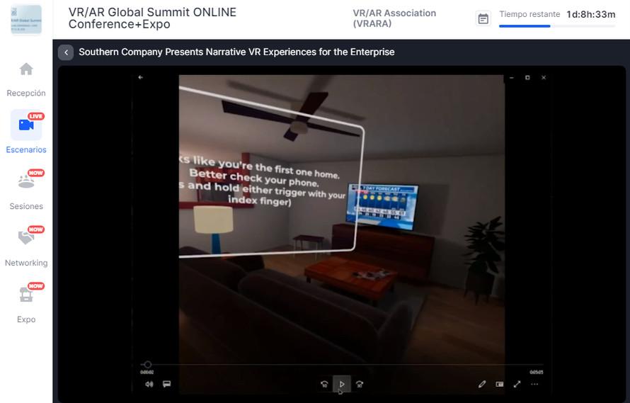 VR Narratives Experiences for Enterprise.