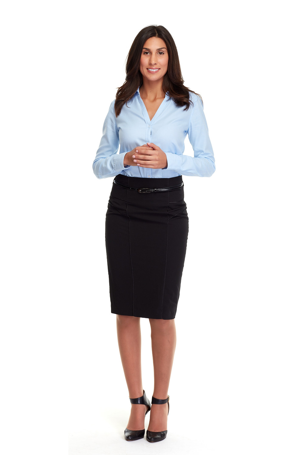 Dressing for a felony-friendly job interview.