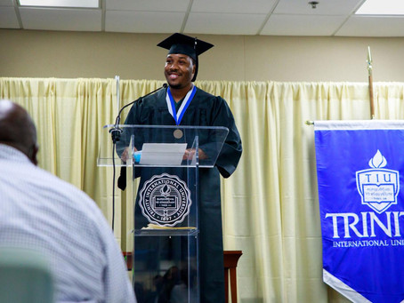 The first cohort of students incarcerated in Wisconsin graduated with bachelor's degrees