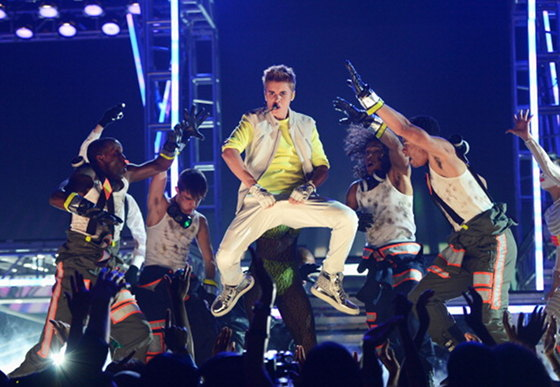 justin bieber billboard Awards 2012