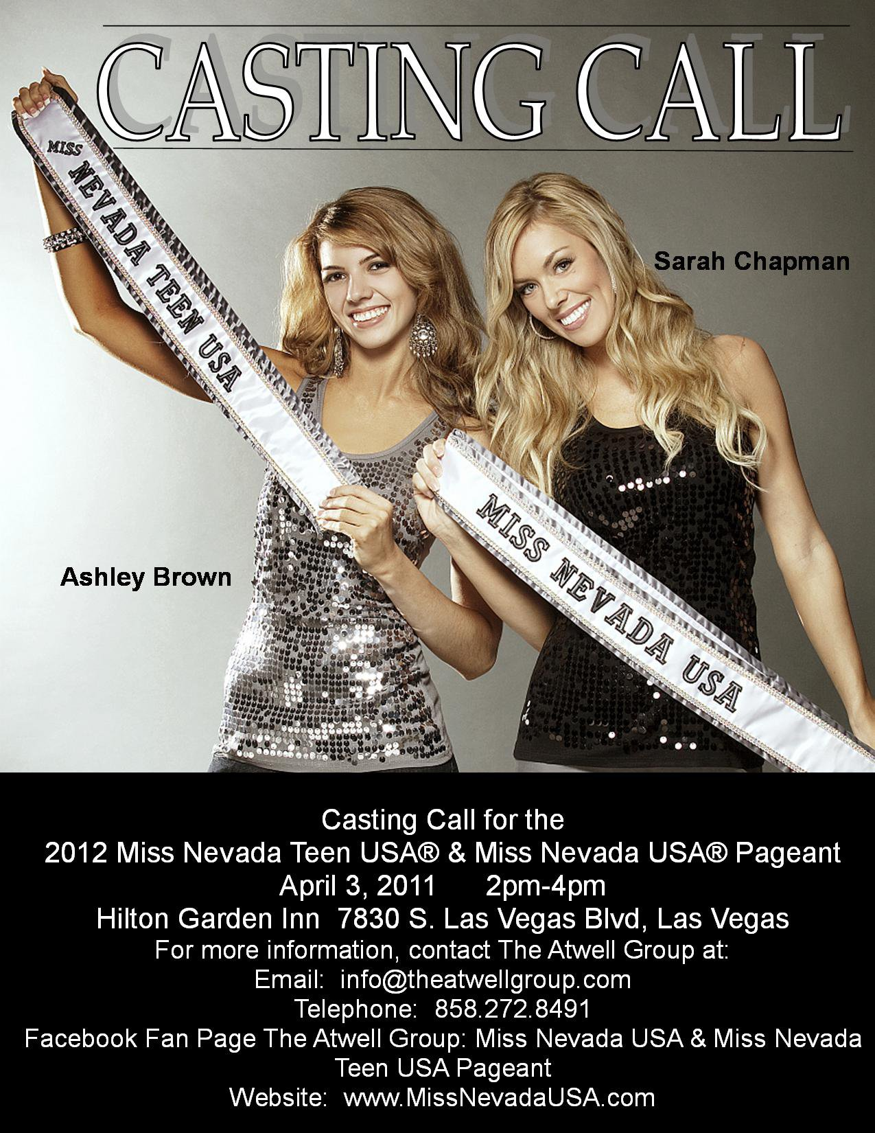 Vegas Top Pageant Hair & Makeup