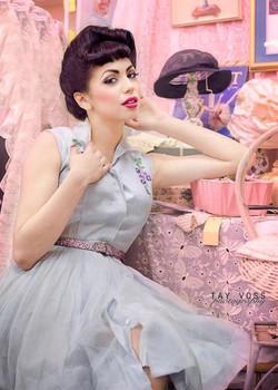 las vegas top Pin Up makeup artist