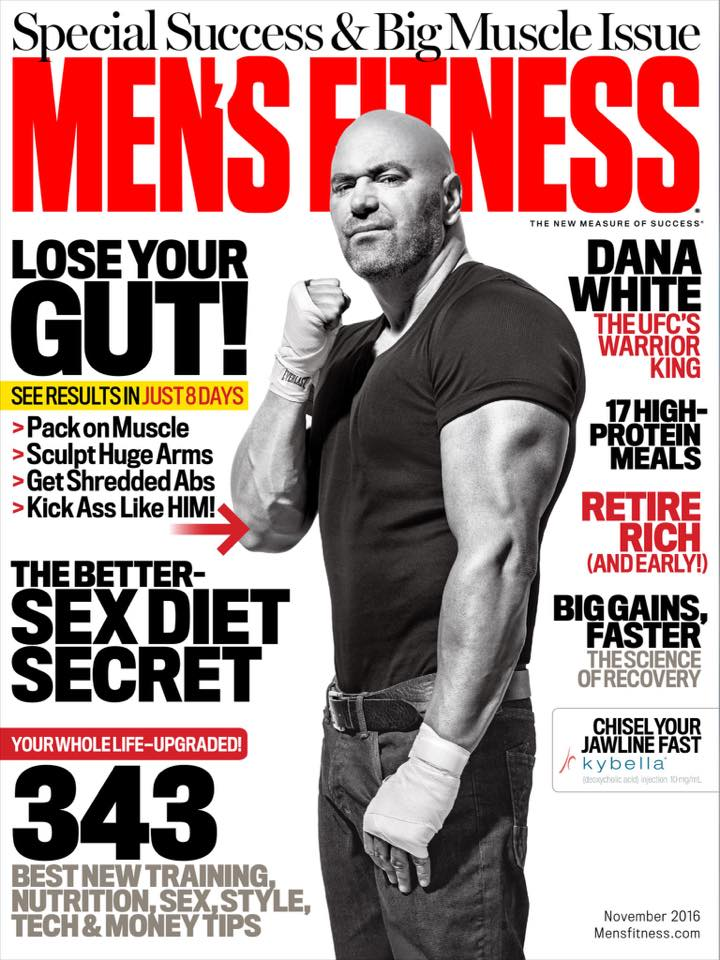 Nov. Issue Mens Fitness Mag Cover 1