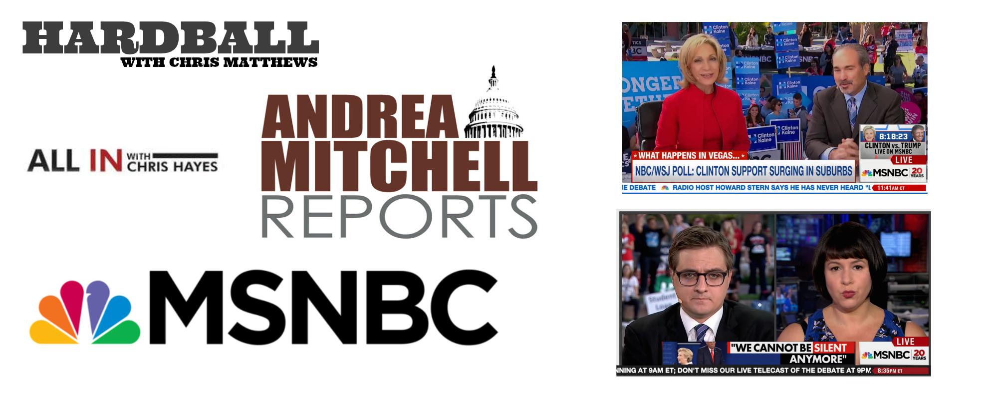 MSNBC Presidential Debate 2016