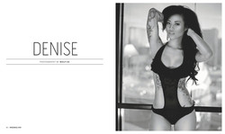 6 page spread in Unked Magazine July