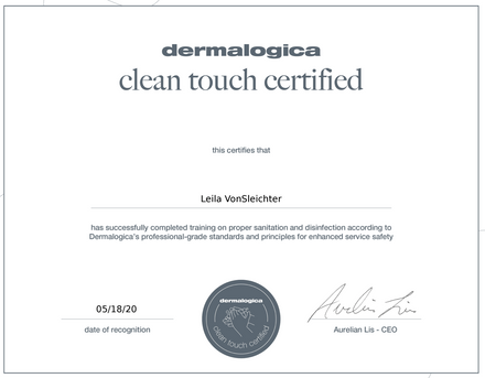 dermalogica certified