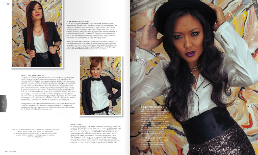 Vegas Rated Magazine - April 2013