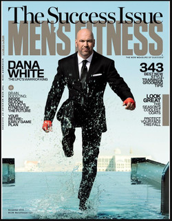Nov. Issue Mens Fitness Mag Cover 2