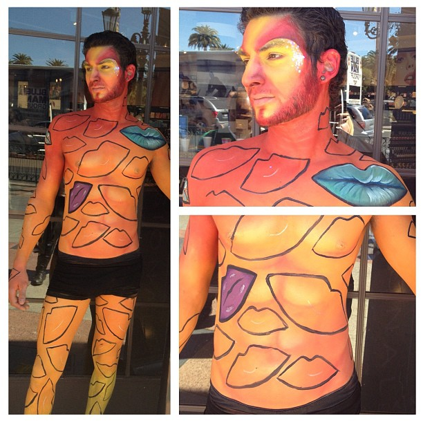 Las Vegas Top Body Painter