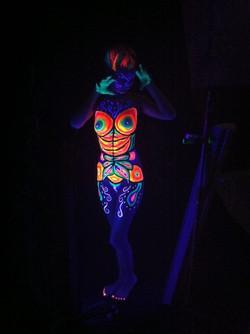 Las vegas Top body painter painting