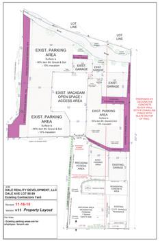 Dale Realty Development - Dale Ave Property Layout
