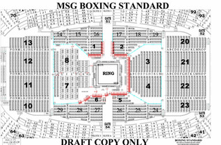 Boxing Standard - Madison Square Garden