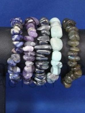 Crystal Nugget Bracelets