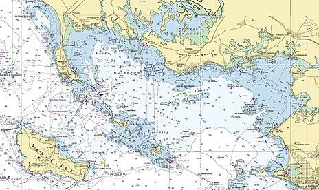 Carte Marine Belle-Ile, baie de Quiberon à la voile, faire du catamaran habitable en Bretagne, faire de la voile, apprendre la voile, club de croisière