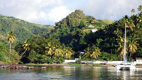 Croisière aux Grenadines, barrière de corail, Club de croisière, faire de la voile, apprendre la voile, croisière à la voile, croisière en catamaran, Transatlantique, transat, traversée de l'Atlantique, Saint-Vincent