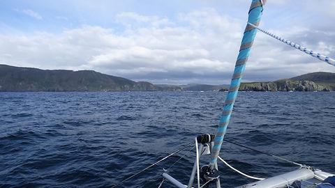 Cedeira, Ria de Cedeira, Club de croisière, Galice, faire de la voile, apprendre la voile, croisière à la voile, croisière en catamaran