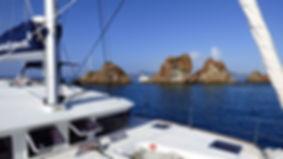 Croisière aux îles Vierges Britanniques, BVI's, BVIs, Virgin Gorda, The Baths, barrière de corail, Club de croisière, faire de la voile, apprendre la voile, croisière à la voile, croisière en catamaran, Transatlantique, transat, traversée de l'Atlantique