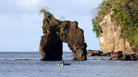 Croisière aux Grenadines, barrière de corail, Club de croisière, faire de la voile, apprendre la voile, croisière à la voile, croisière en catamaran, Transatlantique, transat, traversée de l'Atlantique, arc en ciel