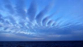 Grand large, Club de croisière, faire de la voile, apprendre la voile, croisière à la voile, croisière en catamaran, Transatlantique, transat, traversée de l'Atlantique, nuages, horizon