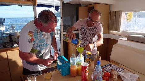 Croisière aux Grenadines, barrière de corail, Club de croisière, faire de la voile, apprendre la voile, croisière à la voile, croisière en catamaran, Transatlantique, transat, traversée de l'Atlantique, ti punch
