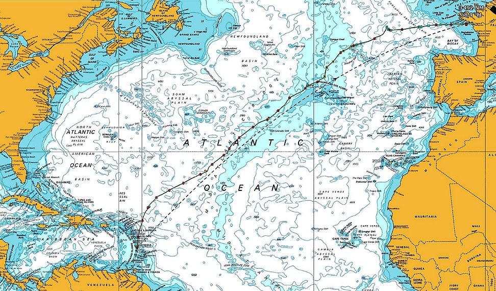 Grand large, Club de croisière, faire de la voile, apprendre la voile, croisière à la voile, croisière en catamaran, Transatlantique, transat, traversée de l'Atlantique