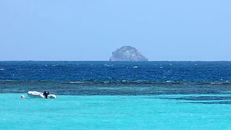 Croisière aux Grenadines, Club de croisière, faire de la voile, apprendre la voile, croisière à la voile, croisière en catamaran, Transatlantique, transat, traversée de l'Atlantique, barrière de corail, lagon