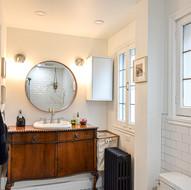 Salle de bain style vintage
