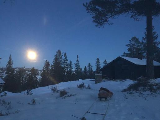 Tribuneplass mot supermånen