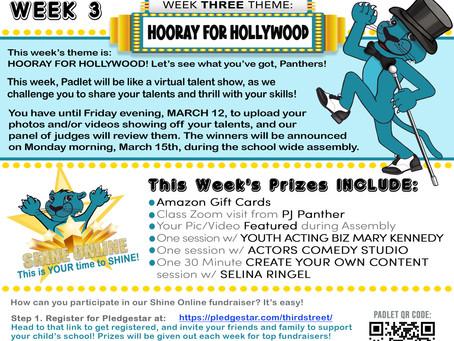 Shine Online Week 3: Hooray For Hollywood!