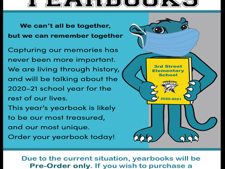 Order Your 2020-2021 Yearbook Now!