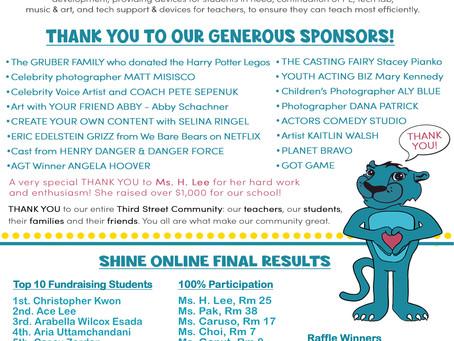 Shine Online Final Results