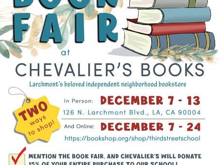 3rd Street Elementary Book Fair!