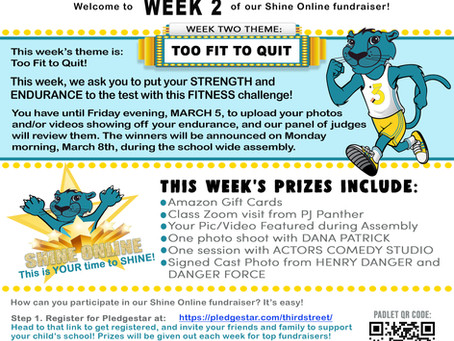 Shine Online Week 2: Too Fit To Quit!