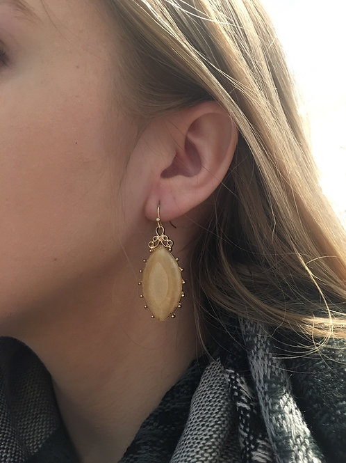 Sparkly Vintage Style Earrings