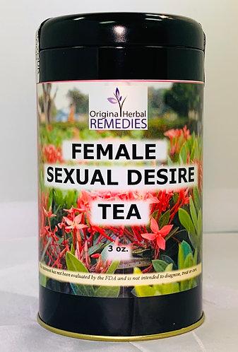 Female Sexual Desire Tea