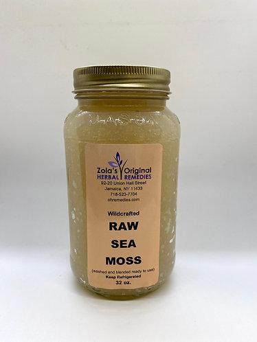Raw Wild Crafted SeaMoss 32 oz