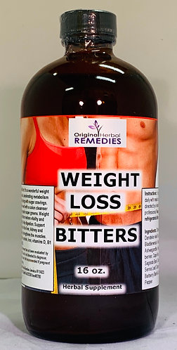 Weight Loss Bitters