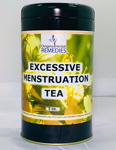Excessive Mensruation Tea