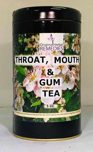 Throat, Mouth & Gum Tea