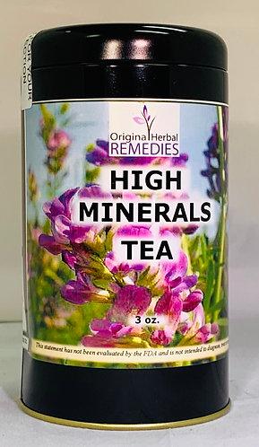 High Minerals Tea