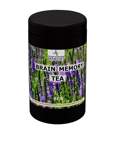 Brain Memory Tea