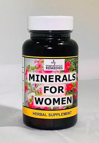 Minerals For Women