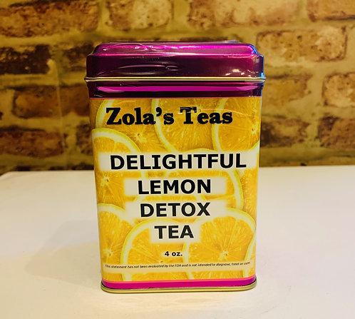 Delightful Lemon Detox Tea