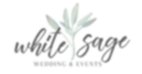 White Sage Weddings & Events Logo Brand Wedding Planning Services Event Coordinator