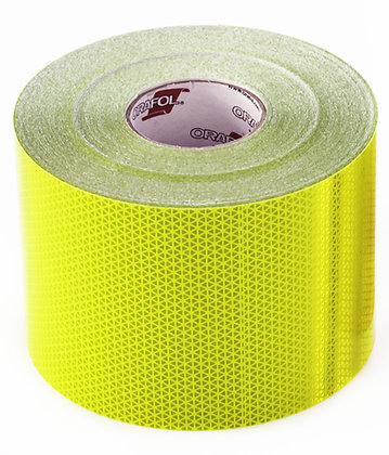 ORAFOL V98-6''x20ft Fluo Lime Conspicuity Material