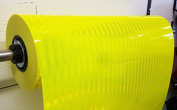 """3M DIAMOND GRADE CONSPICUITY TAPE 983-23-24""""x50yds FLUO LIME"""
